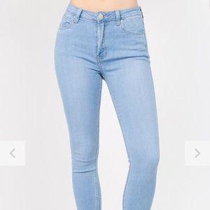 🛍 3/$45 BNWT American Bazi High Rise Skinny Jeans